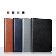 cheap -Case For Apple iPad Mini 1  iPad Mini 2  iPad Mini 3  iPad Mini 4  iPad Mini 5  360 Rotation  Shockproof  Magnetic Full Body Cases Solid Colored PU Leather  TPU