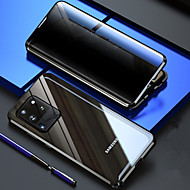 cheap -Privacy Double Sided 360 Full Cover Magnetic Case For Samsung Galaxy S20 Plus Clear 9H Tempered Glass Front and Back Full Body Magnetic Adsorption Shockproof Case For Samsung Galaxy S20 Plus / S20