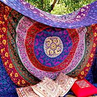 billige -mandala boheme veggteppe kunst dekor teppe gardin piknik duk hengende hjem soverom stue sovesal dekorasjon boho hippie psykedelisk blomsterblomst lotus