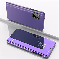 cheap -Case For Samsung Galaxy Galaxy A11 A10S A20S M30S A51 A31 A71 A11 M11 A21S A51 5G A31 5G Shockproof  Mirror Full Body Cases Solid Colored PC
