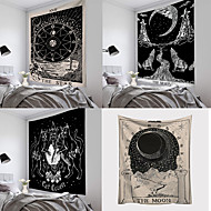cheap -Tarot Sun and Moon Pattern Blanket Tarot Indian Mandala Tapestry Wall Hanging Bohemia Gypsy Home Bedroom Decorating Throw