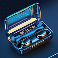 cheap -LITBest F95 TWS True Wireless Earbuds Bluetooth Stereo Binaural Call Touch Control Earphone With Magnetic Switch Large Capcity Charging Box Power Bank LED Digital Display Headset For Sport Fitness