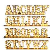 abordables -led décor lumière a à z alphabet led chapiteau signe lumière tenture murale intérieure led lampe de nuit proposition intérieure fête de mariage fête d'anniversaire vacances de noël maison bar