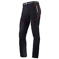 economico -Per uomo Pantaloni da ciclismo Estate Poliestere Bicicletta Pantalone / Sovrapantaloni Calze / Collant / Cosciali Pantaloncini Ompermeabile Traspirante Asciugatura rapida Gli sport Nero / Grigio
