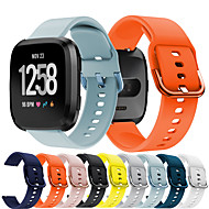 cheap -Soft Silicone Watch Band for Fitbit Versa / Fitbit Versa Lite / Fitbit Versa 2 Watch Replacement Accessories Bracelet Wristband Strap for Fitbit Versa / Fitbit Versa Lite / Fitbit Versa 2