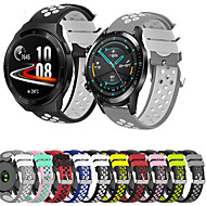 cheap -22mm Bracelet Watch Band for Huawei Watch GT / Huawei Watch GT2 46mm / Huawei Watch GT 2e Replacement Silicone Watch Strap for Huawei Watch GT / Huawei Watch GT2 46mm / Huawei Watch GT 2e