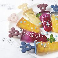 economico -4/6/8 slot set gelato artigianale fatto a mano estate stampo ghiacciolo vassoio stampo ghiaccioli utensili da cucina accessori fai da te