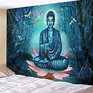 billige -mandala boheme veggteppe kunst dekor teppe gardin hengende hjem soverom stue sovesal dekorasjon boho hippie psykedelisk blomsterblomst lotus buddha indisk