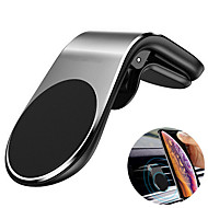 cheap -Metal Magnetical Car Phone Holder Mini Air Vent Clip Mount Magnet Mobile Stand For iPhone XS Max for Xiaomi Smartphones in Car For Huawei Xiaomi onePlus Samsung iPhone