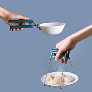 economico -2 pezzi da cucina antiscottatura coppa isolante attrezzo da cucina attrezzo da cucina antiscottatura portabicchieri multifunzione prendere la clip del vassoio