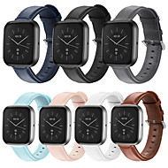 cheap -Watch Band for Fitbit Versa Lite / fitbit versa 2 Fitbit Business Band Genuine Leather Wrist Strap