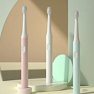 رخيصةأون -فرشاة أسنان كهربائية ذكية قابلة لإعادة الشحن مقاومة للماء فرشاة أسنان كهربائية للكبار نظيفة قياسية / لطيفة نظيفة / واقي فم حساس 500 مللي أمبير