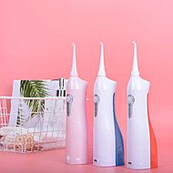 رخيصةأون -منظف الأسنان منظف الأسنان الكهربائية المحمولة منظف الأسنان بخيط المياه IPx7 مقاوم للماء 1800 مللي أمبير تصميم خالٍ من الضوضاء