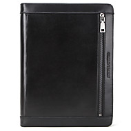 cheap -Case For Apple iPad Air3 PRO 9.7 10.2 10.5 11 inches Flip Full Body Cases Solid Colored Genuine Leather vintage soft smooth handle Card Holder Shockproof zipper holder buckle pencil cable notebook