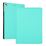 cheap -Case For Apple iPad 2 3 4 Air Air2 Air3  ipad pro 9.7 ipad pro 10.5 ipad 10.2(2019) Shockproof Flip Full Body Cases  PU Leather TPU Solid Colored Auto Sleep Wake Up