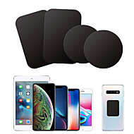 cheap -8pcs Metal Plate Disk For Magnet Car Phone Holder iron Sheet Sticker For Magnetic Mobile Phone Holder Car Stand Mount