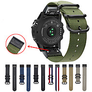 cheap -Easy Fit Nato Premium Nylon Strap for For Garmin Fenix 5 / Fenix 5 Plus   Watch Band Quick Release Replacement Wrist band For Garmin Fenix 6 / 6 Pro / Fenix 5 / Fenix 5 Plus
