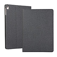 cheap -Case For Apple iPad 2 3 4 Air Air2 Air3  ipad pro 9.7 ipad pro 10.5 ipad 10.2(2019) Shockproof Flip Full Body Cases  PU Leather TPU Solid Colored Auto Sleep Wake Up Textile