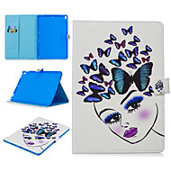 cheap -Case For Apple iPad air 1 air2 air3 pro 10.2 10.5 11 inches  9.7 inches 2019 2018 2017 Card Holder Shockproof Pattern Full Body Cases Animal PU Leather TPU Auto Sleep Wake Up magnetic buckle