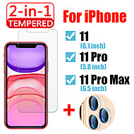 2in1 For iPhone 11 Pro Max Protective glass with Camera Lens Screen Protector IPhone11 11 Pro Tempered Glass