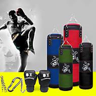 economico -Sacco paracolpi Kit borsa pesante With 1 gancio Guantoni da box Cinghia di catena smontabile Sacco paracolpi per Taekwondo Boxe Karatè Arti marziali Muay Thai Regolabili Duraturo Vuoto Allenamento