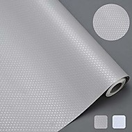 economico -Fodere per scaffali impermeabili antiscivolo, fodere per ripiani in eva sani, tappetino per cassetti, per ripiani dell'armadio da cucina, 45x450 cm / 17,7 x 177 pollici - grigio
