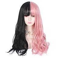 No Black / Pink Sweet Lolita Ōji Lolita (Boystyle) Lolita Lolita Wig 75 inch Cosplay Wigs Fashion Wig Halloween Wigs