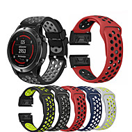 cheap -Watch Band Wrist Strap for Garmin Fenix 5 / Approach S60 / Forerunner 935 / 945 / Quatix 5 / Quatix 5 Sapphire / Fenix 6 / Fenix 5 Plus Watch Quick Release Silicone Easyfit Bracelet Wristband