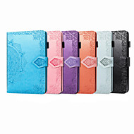 cheap -Case For iPad 4 3 2 iPad Pro 11'' iPad 10.2'' iPad 10.5 Card Holder Flip Magnetic Full Body Cases Solid Colored PU Leather