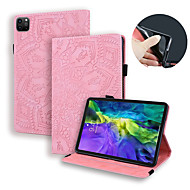 cheap -Case For iPad Pro12.9 2020 iPad Pro11 2020 iPad 234 Mini12345 iPad Pro9.7 10.5 Air 2019 Card Holder  Flip  Magnetic Full Body Cases Solid Colored PU Leather