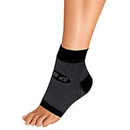 fs6 foot bracing sleeve treats plantar fasciitis, achilles tendonitis and relieves heel pain in a soft, moisture-wicking fabric (xlarge, black)