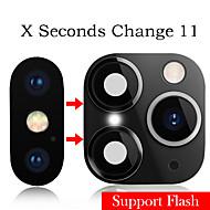AppleScreen ProtectoriPhone XS (HD) دقة عالية كاميرا عدسة حامي 1 قطعة سبائك التيتانيوم
