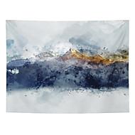 economico -pittura a inchiostro cinese stile arazzo da parete decorazione artistica tenda coperta appesa casa camera da letto soggiorno decorazione astratta montagna