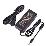 محول طاقة 12 فولت 5 أمبير تيار متردد 100-240 فولت إلى محولات تيار مستمر 12 فولت مزود طاقة لشريط إضاءة LED جهاز توجيه لاسلكي وكاميرات أمان