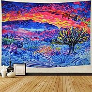 cheap -tree of life tapestry colorful tree tapestry psychedelic tapestry trippy tree wall art tapestry wall hanging for bedroom living room dorm& #40;h51×w59 inches& #41;