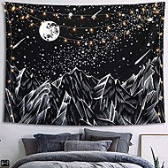 economico -sketch wall arazzo art decor coperta tenda appeso casa camera da letto soggiorno decorazione kanagawa onda ukiyo-e trippy mountain tarot divination