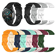 cheap -Replaceable Watchbands for Huawei Honor Magic Watch 2 46mm / GT2 46mm / Huawei honor Magic / GT / GT 2e Silicone Strap