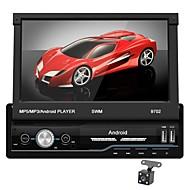 SWM 9702+4Led camera 7 inch 1 Din Android 8.1 In-Dash DVD Player / Car MP5 Player / Car MP4 Player Οθόνη Αφής / GPS / Ενσωματωμένο Bluetooth για Universal RCA / HDMI / FM2 Υποστήριξη MPEG / MPG / WMV