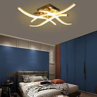economico -Plafoniera moderna a led in alluminio biforcuta da 18w e 24w per decorazione soggiorno 85-265v