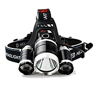 conqueror super headlamp - rechargeable, waterproof & powerful (black)