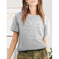 cheap -miracle worker t shirt women way maker miracle worker promise keeper shirts christian shirt short sleeve graphic tees tops green