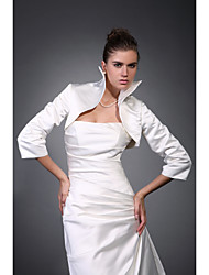 cheap -Satin Wedding Wedding  Wraps With Coats / Jackets