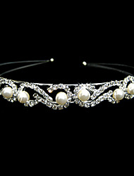 cheap -Women's Alloy Imitation Pearl Headpiece-Wedding Special Occasion Headbands