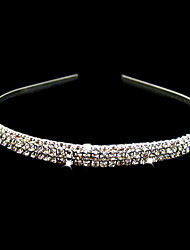 cheap -Crystal / Fabric / Alloy Tiaras / Headbands with 1 Wedding / Special Occasion / Party / Evening Headpiece