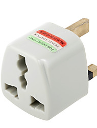 cheap -Universal US EU AU to UK Ac Power Plug Adapter Travel Converter(CEG404)
