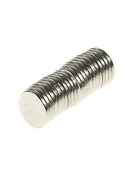 billige -20 pcs 8mm Magnetiske puslespil Magnetiske puslespil Superkraftige neodym-magneter Neodymmagnet Jern Metal Voksne Drenge Pige Legetøj Gave