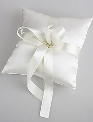 cheap -Faux Pearl Satin / Rayon Ring Pillow Garden Theme Spring / Summer / Fall