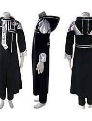 cheap -Inspired by D.Gray-man Allen Walker Anime Cosplay Costumes Japanese Cosplay Suits Patchwork Long Sleeve Coat / Pants / Badge For Men's