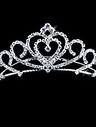 cheap -Crystal / Fabric / Alloy Tiaras with 1 Wedding / Special Occasion / Party / Evening Headpiece