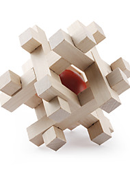 cheap -Balls Wooden Puzzle IQ Brain Teaser Professional Level Speed Wooden Classic & Timeless Boys' Girls' Toy Gift